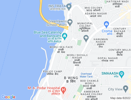 Flat on rent in Worli Sagar CHS, Worli