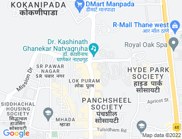 Flat on rent in Hiranandani Meadows, Thane West