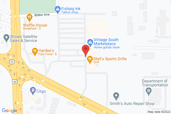 Mapped location of Stell's Sports Grille