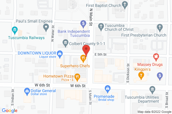 Mapped location of The Palace Ice Cream & Sandwich Shop