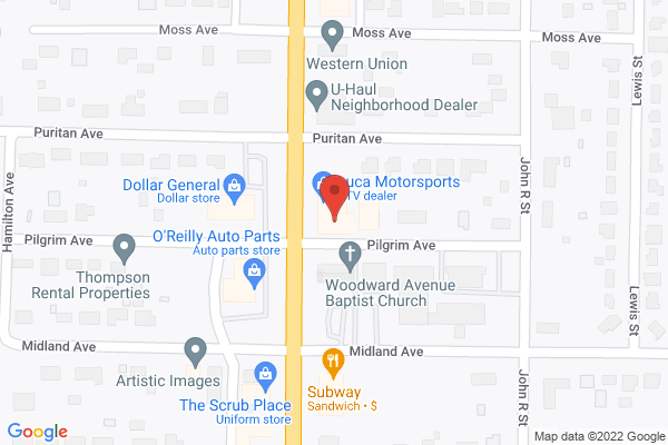 Mapped location of The Village Shoppe