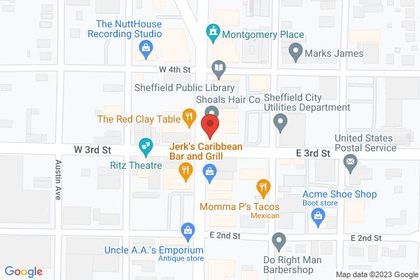 Mapped location of Vertillo Pizza & Grill