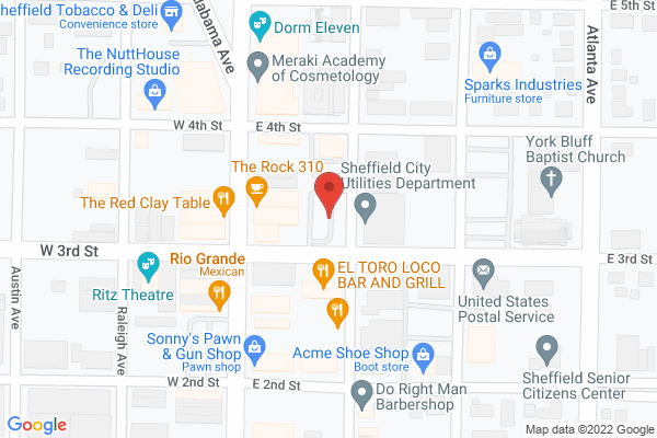 Mapped location of Zoey Belle's