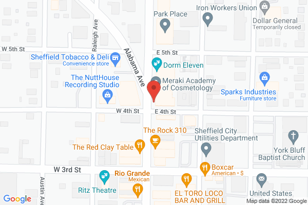 Mapped location of Montgomery Place