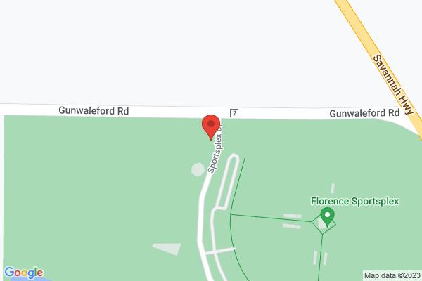 Mapped location of 3v3 Live - Florence, AL