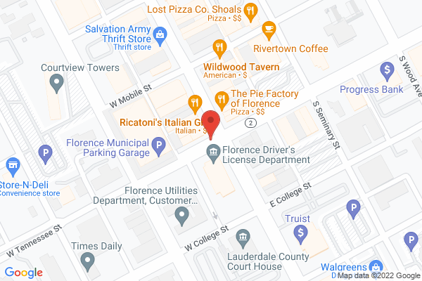 Mapped location of City Hardware