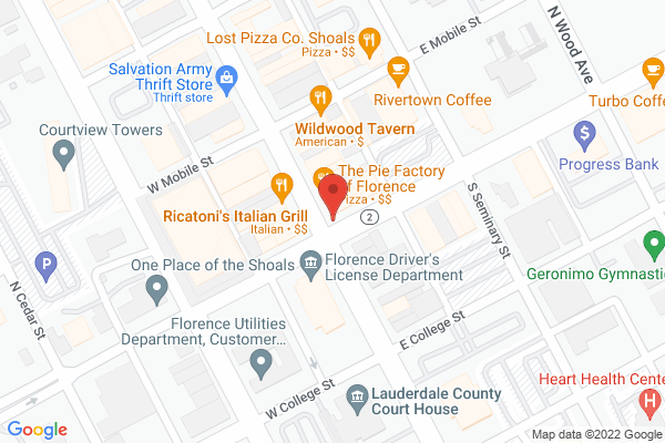 Mapped location of On the Rocks