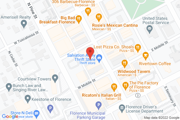 Mapped location of Radiance Boutique