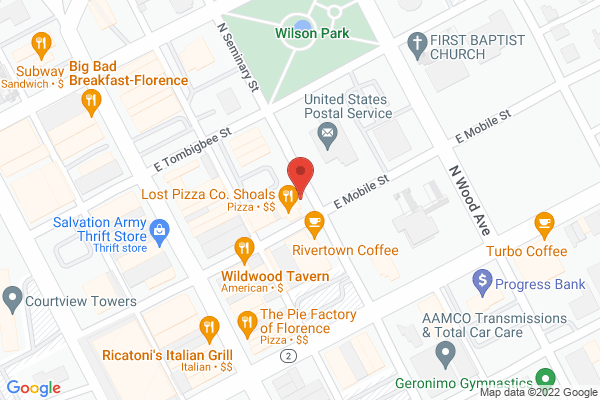 Mapped location of The Spinning Spoke Cycle Hub