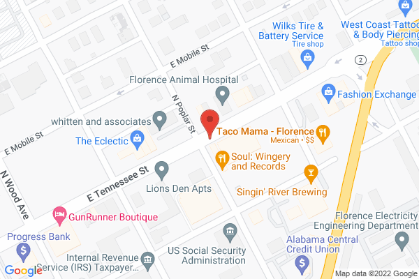 Mapped location of Soul, Wingery, & Records