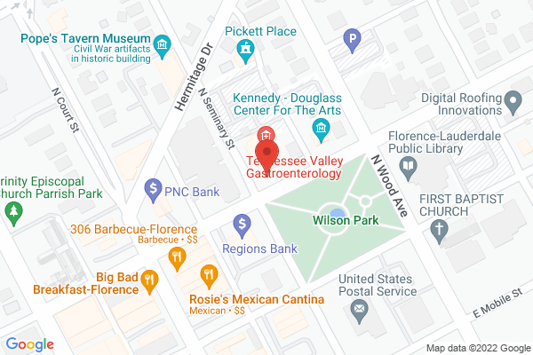 Mapped location of Kennedy-Douglass Center for the Arts