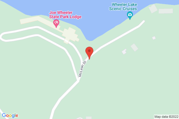 Mapped location of Daniella's in the Park Restaurant