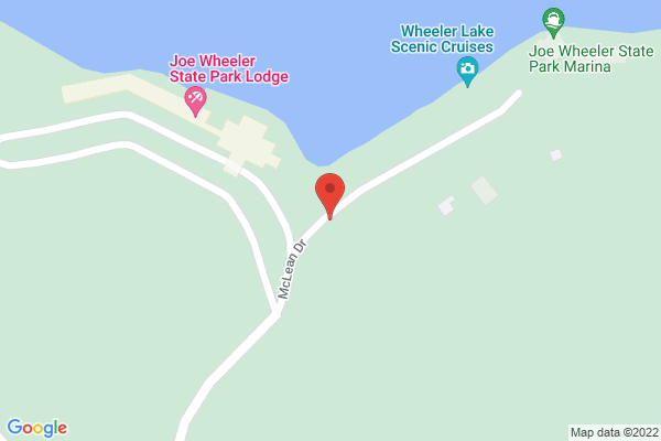 Mapped location of Wilson Lake Scenic Cruises