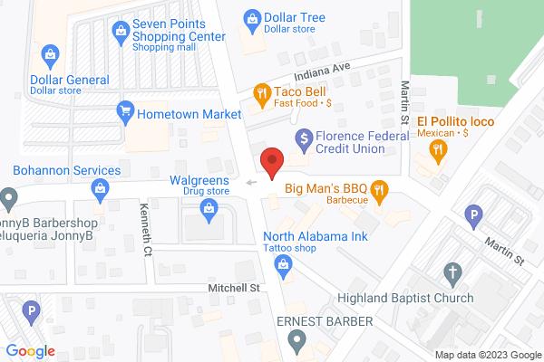 Mapped location of Cheesy Bob