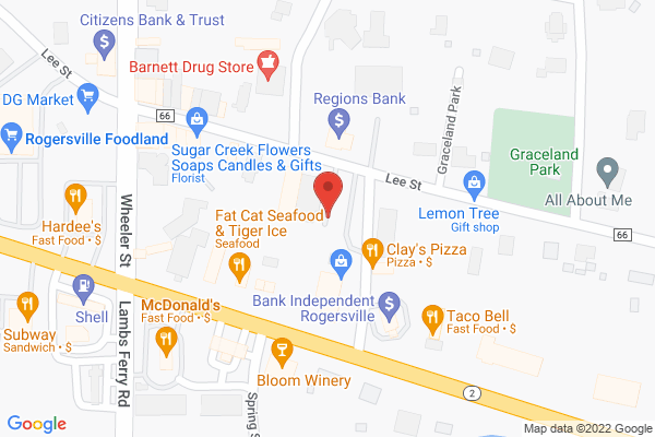 Mapped location of Shef's Kitchen