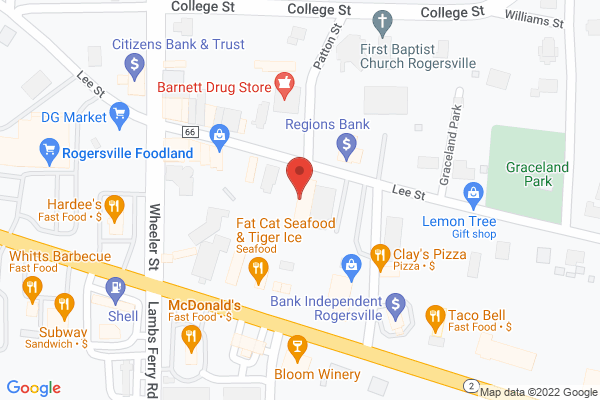 Mapped location of Stephen's Unique Antiques