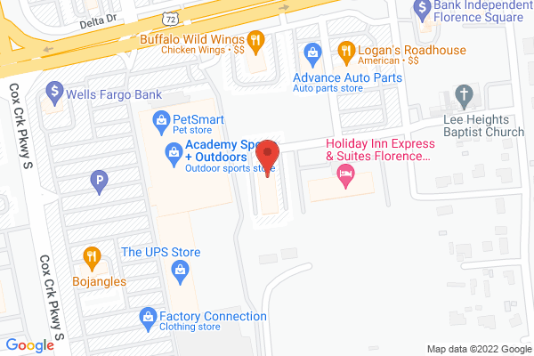 Mapped location of Quality Inn