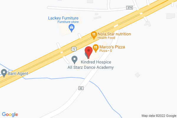 Mapped location of Marco's Pizza