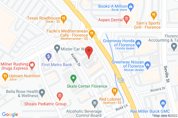Mapped location of Taziki's Mediterranean Cafe