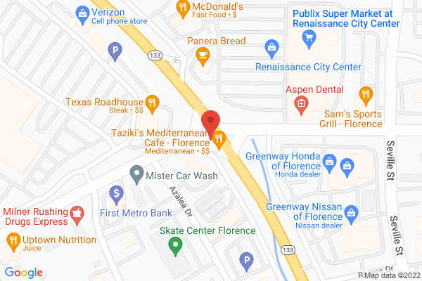 Mapped location of Papa Murphy's Pizza
