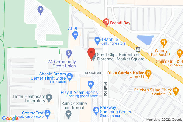 Mapped location of Taco Garage