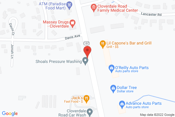 Mapped location of Lil Capone's Italian Bar & Grill