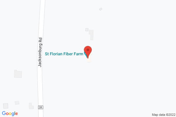 Mapped location of St Florian Fiber Farm