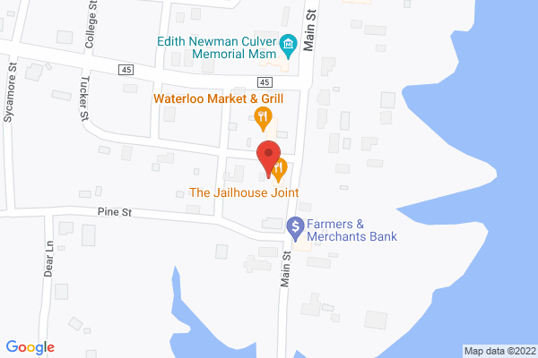 Mapped location of May's Family Diner