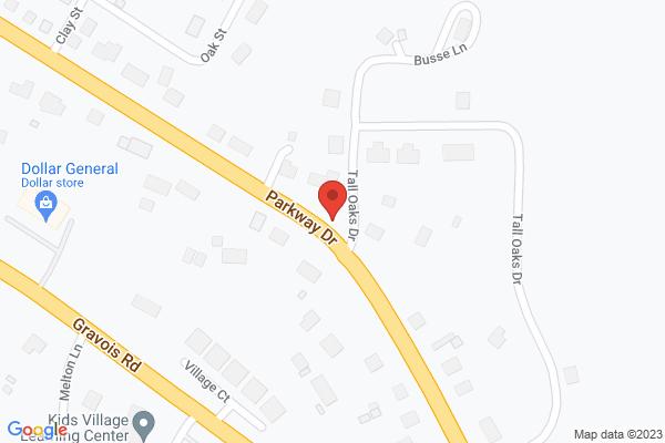 Mapped location of Deibert Park