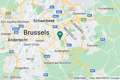 Google Map of Tervurenlaan 270 1150 Brussels