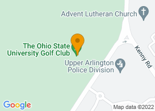 Google Maps map of 3605 Tremont Road, <br/>Columbus, OH 43221
