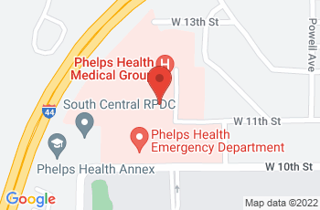 Map of Phelps Regional Medical Center