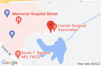 Map of Memorial Hospital East Medical Building