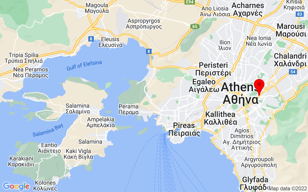 Google Map of Megaron Athens International Convention Centre