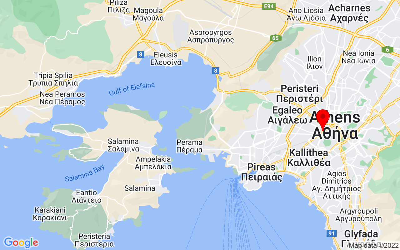 Google Map of 100, Pireos str. 118 54 Gazi - Athens