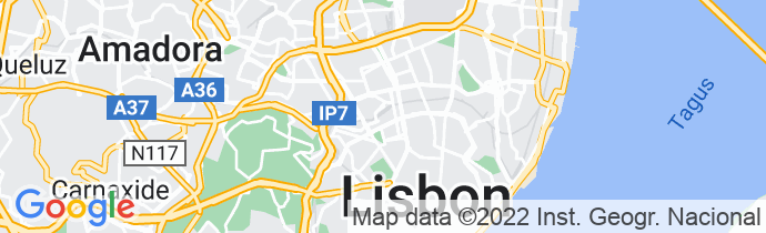 Google Map of National Library of Portugal