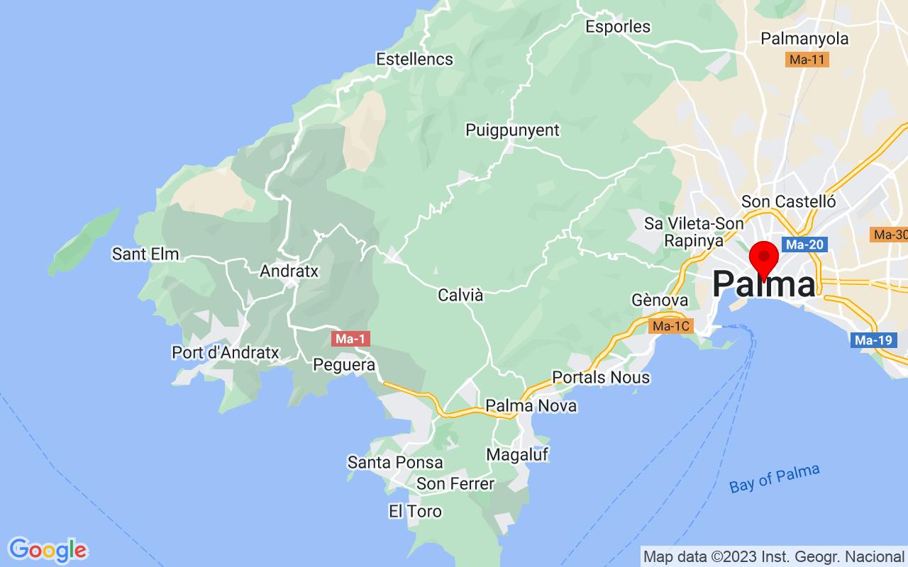 Google Map of Palma