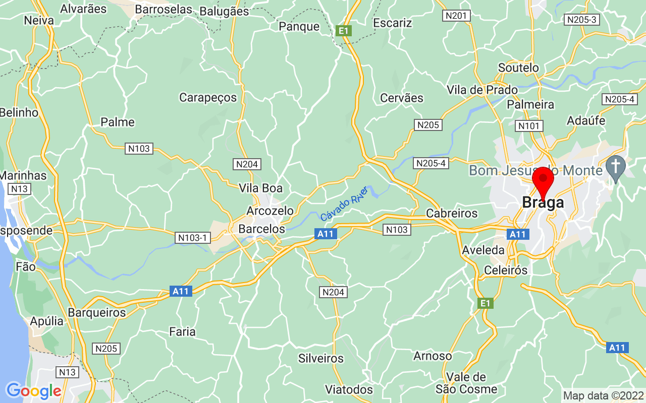 Google Map of Braga
