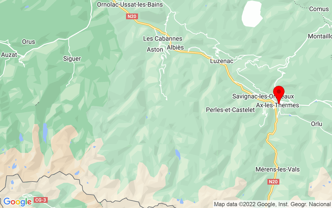 Google Map of Promenade Paul Salette 09110 Ax-les-Thermes France