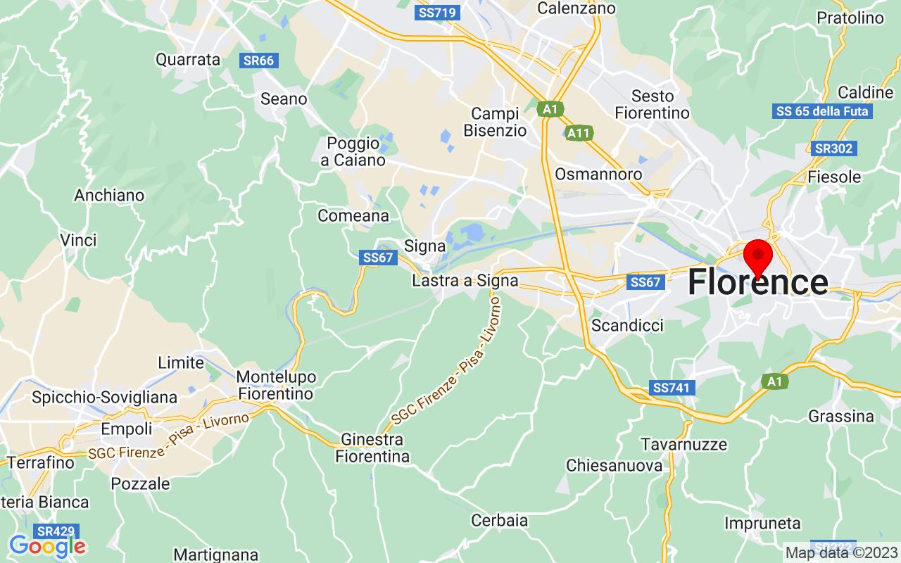 Google Map of Firenze