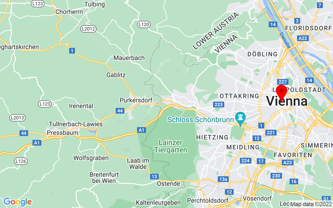 Google Map of Austrian National Library