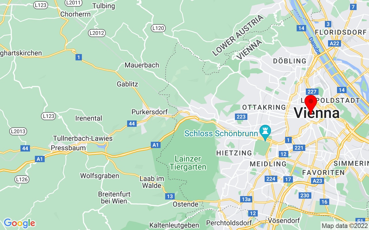 Google Map of National Library of Austria