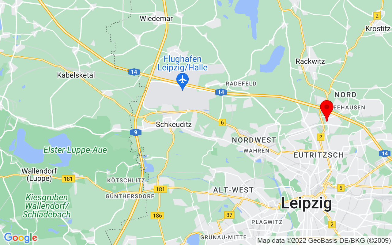 Google Map of leipzigger Messe