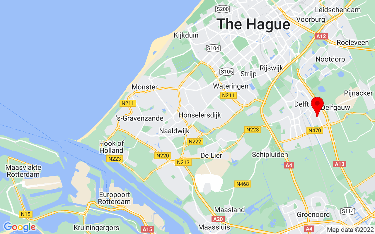 Google Map of Mekelweg 5, 2628 CC Delft, Netherlands