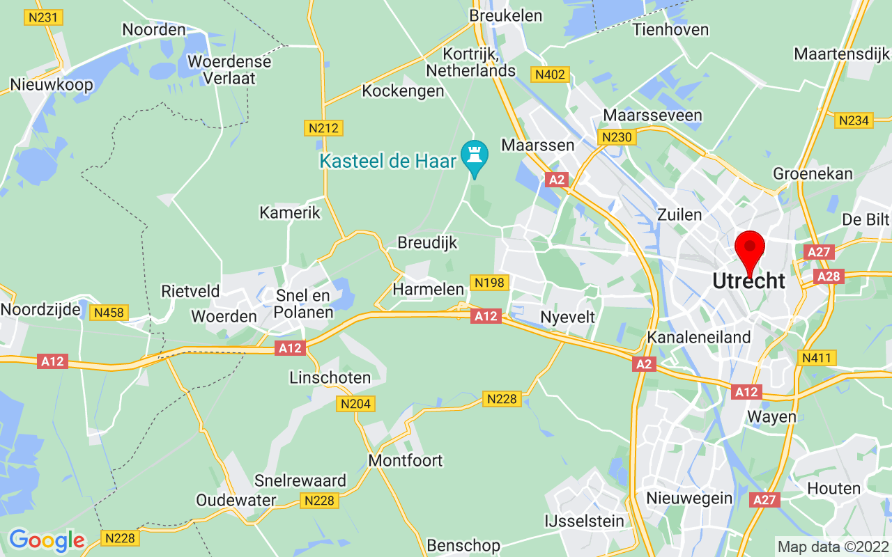 Google Map of Instituto Cervantes, Utrecht