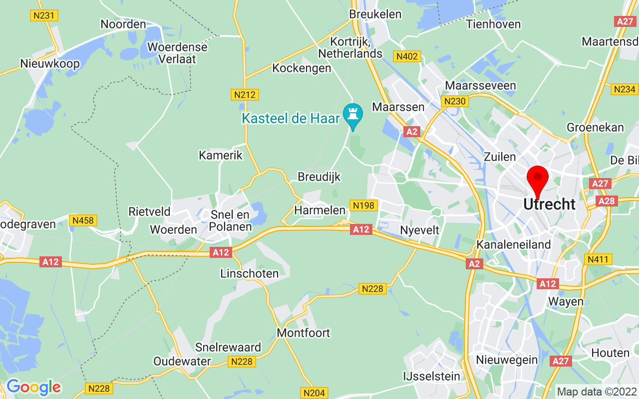 Google Map of Vredenburgkade 11, 3511 WC Utrecht