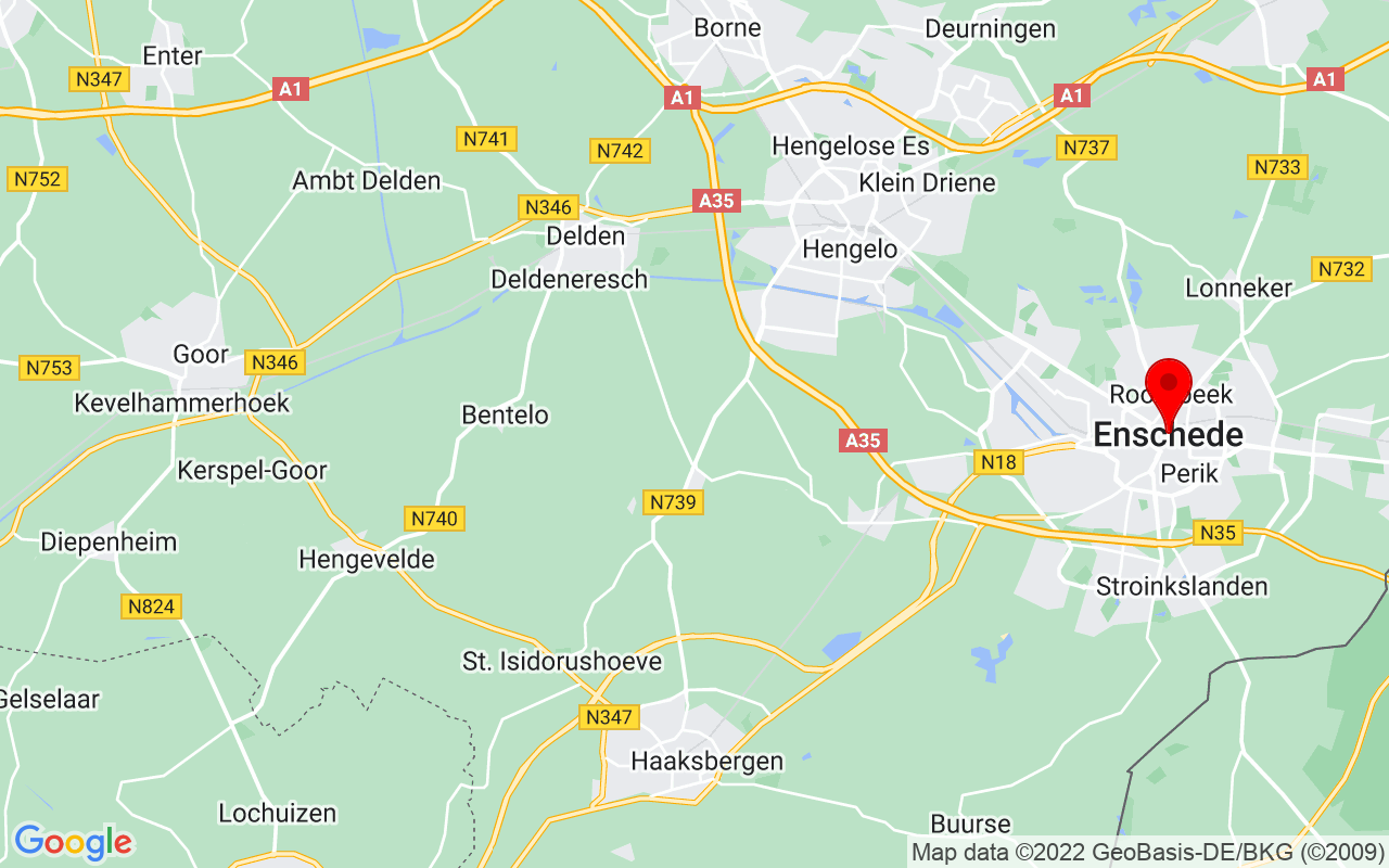 Google Map of Enschede