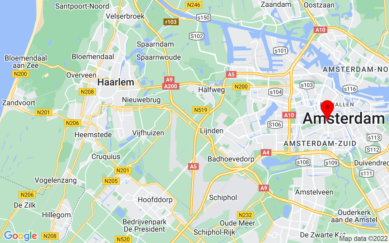 Google Map of Rijksmuseum