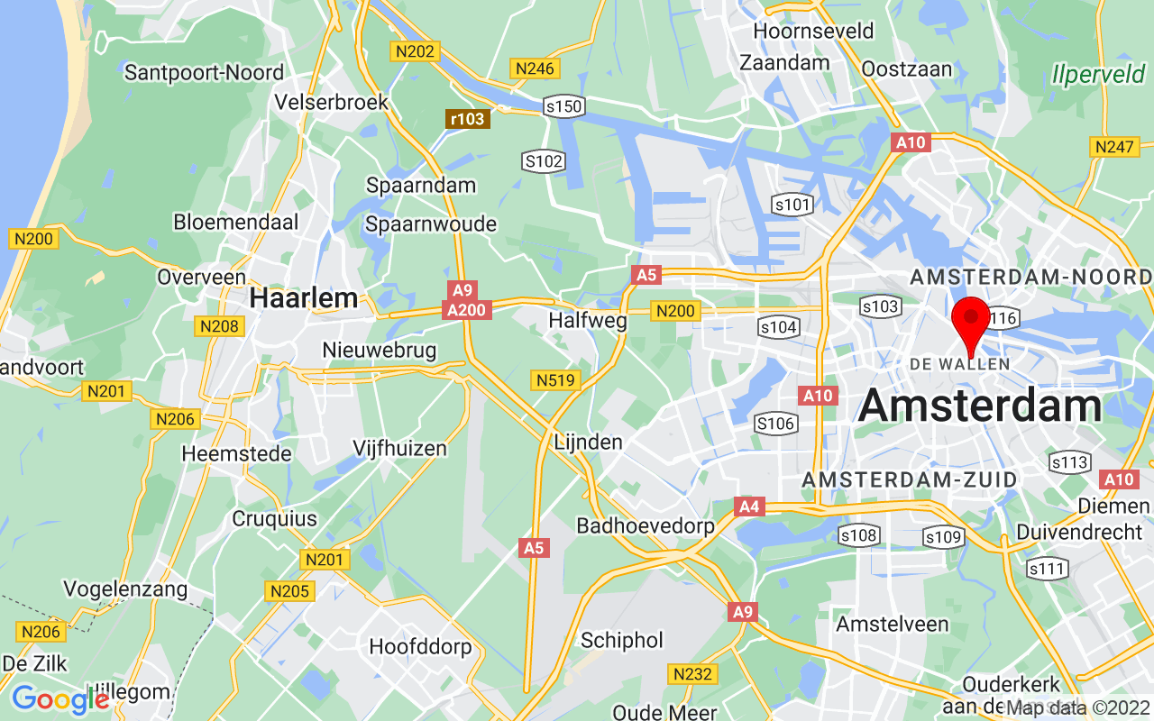 Google Map of Waag Society, Nieuwmarkt 4, 1012 CR, Amsterdam, Netherlands