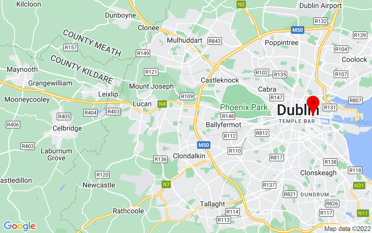 Google Map of EPIC The Irish Emigration Museum